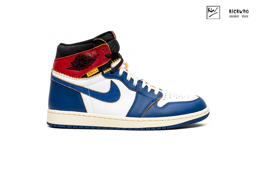 AIR JORDAN 1 x UNION Red white and blue Godkiller 2.0