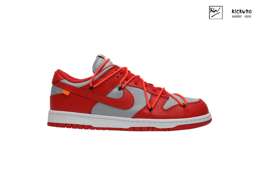 Offwhite x Dunk Low 'University Red' Godkiller