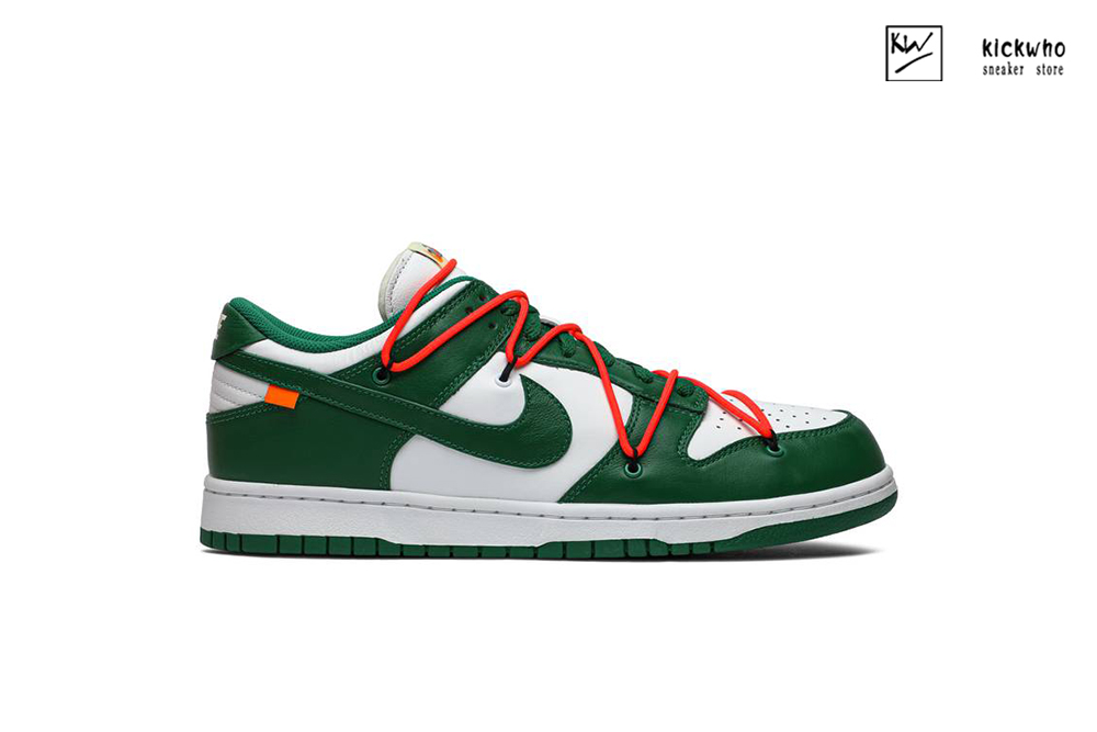 OFF-WHITE x Dunk Low 'Pine Green' Godkiller
